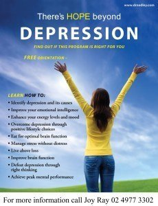 Depression and Anxiety Recovery Program at Kanwal Church on the Central Coast
