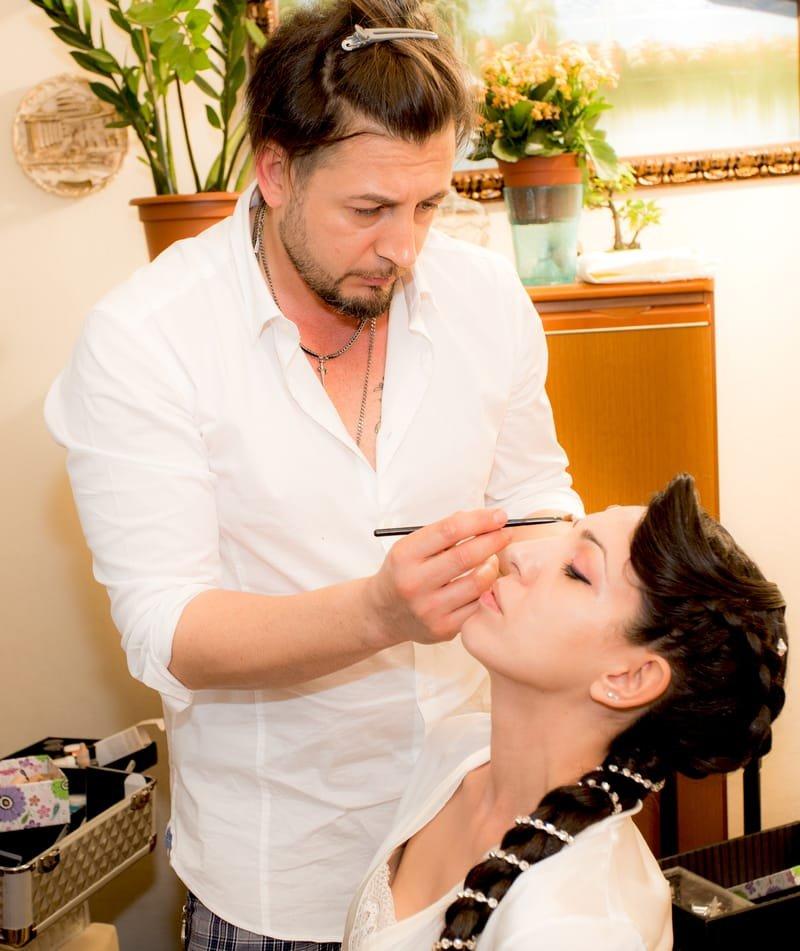 make up giorno-sera matrimoni eventi  -trucco aerografo