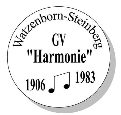 """GV """"Harmonie""""  1906/1983 Watzenborn-Steinberg e.V."""