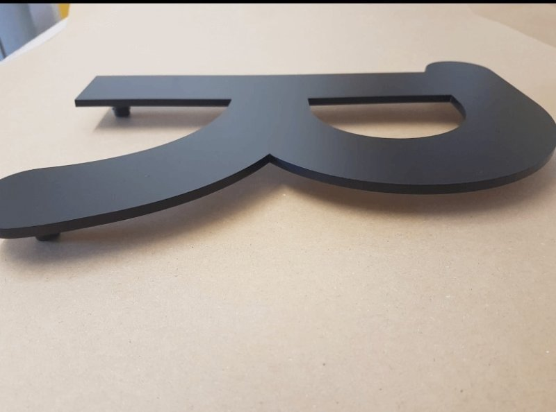 LASER CUTTING & LETTERS, NUMERALS, SHAPES & LOGOS