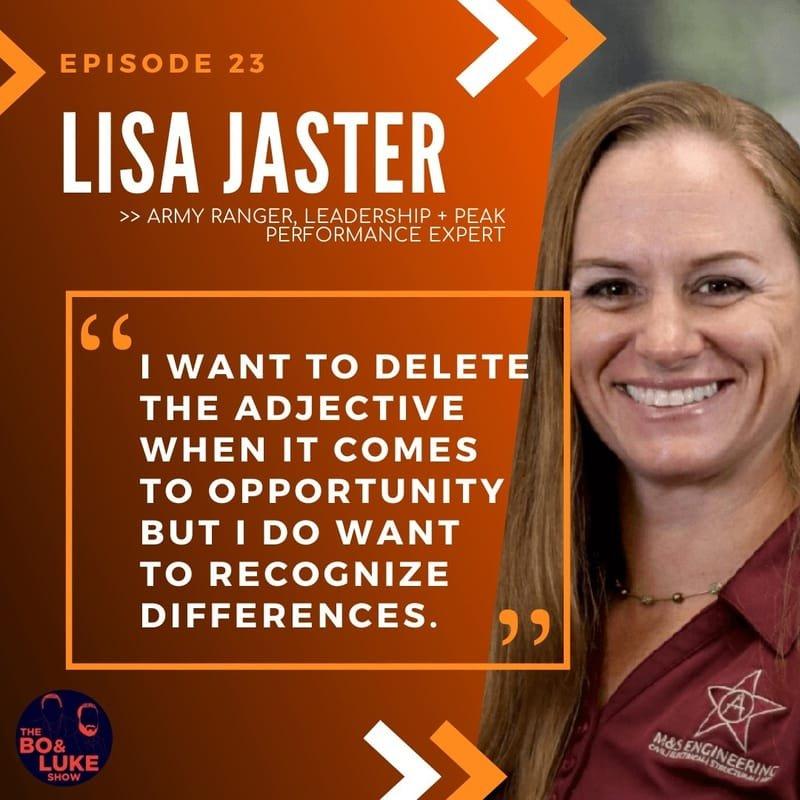 Lieutenant Colonel Lisa Jaster - US Army