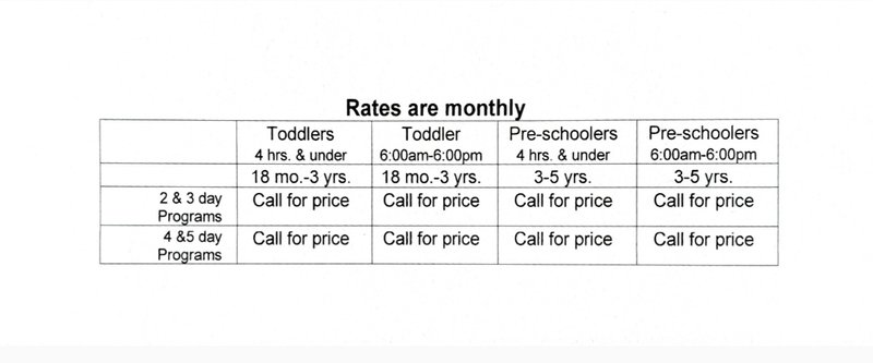Preschool (3-5 years)