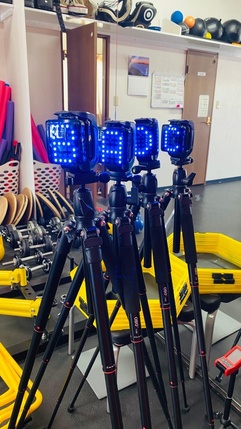 光電管WITTYによる正確な計測で身体能力を分析!