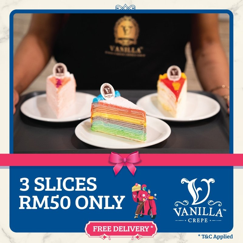 PROMO -3 SLICE FOR RM50