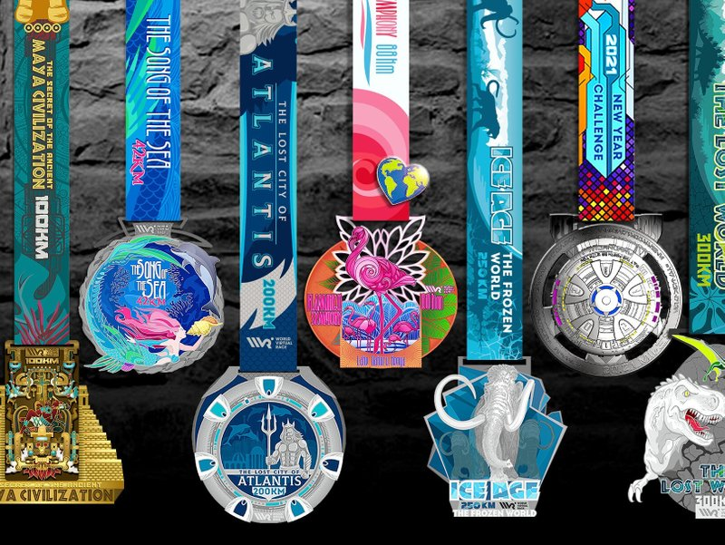 3. Receive Your Finisher's Medal