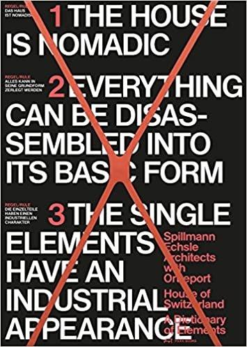 House of Switzerland - Katalog der Elemente