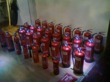 Fire Extinguisher Service & Maintenance Certificate