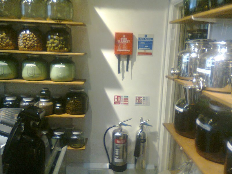 Fire Extinguisher Installation & Fitting Certificate