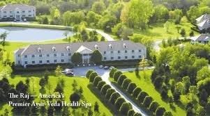 6b)  Ayur Veda and the Raj Health Spa