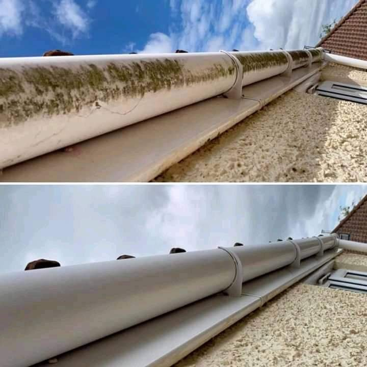 Gutter, Down-Pipe & Drain Cleaning