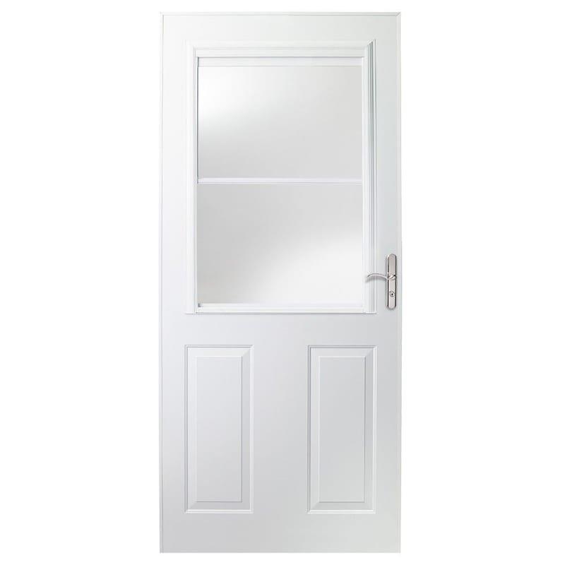 Storm doors installation