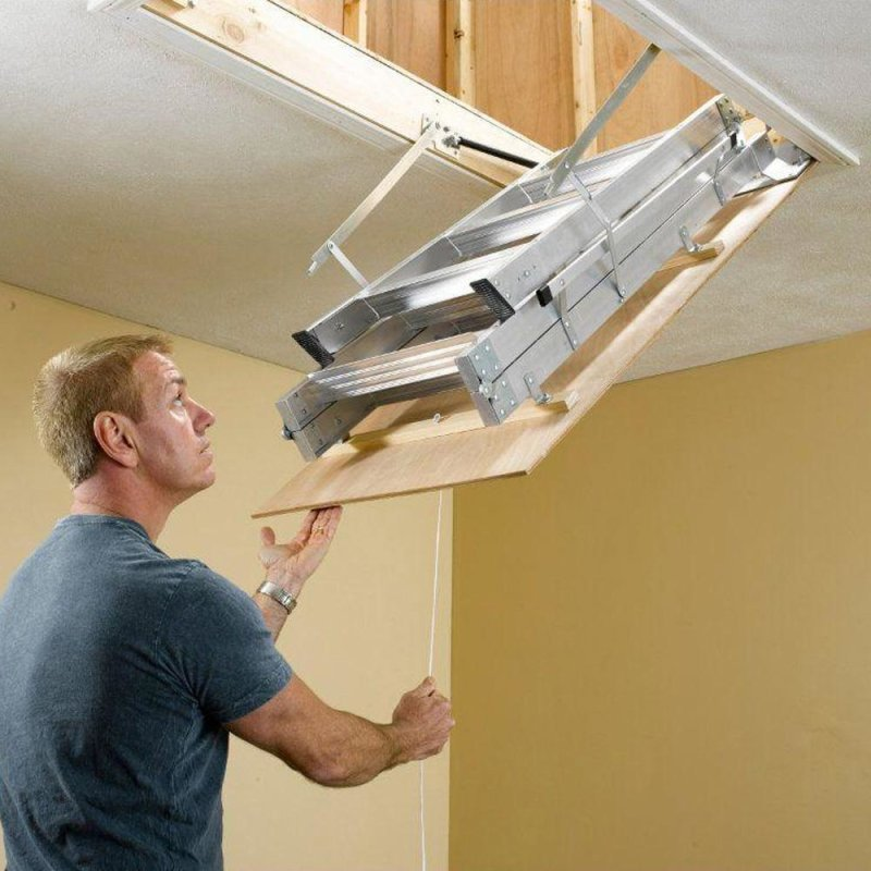 Attic Ladder Installation