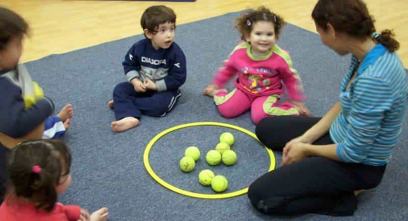 השתלמות למורים בנושא משחקי תנועה לגיל הרך.