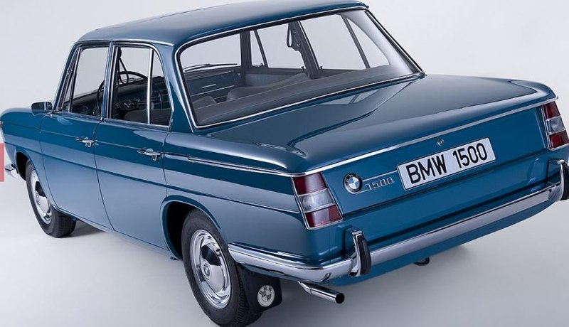 DER PHÖNIX. BMW 1500 vor 60 Jahren die NEUE Klasse