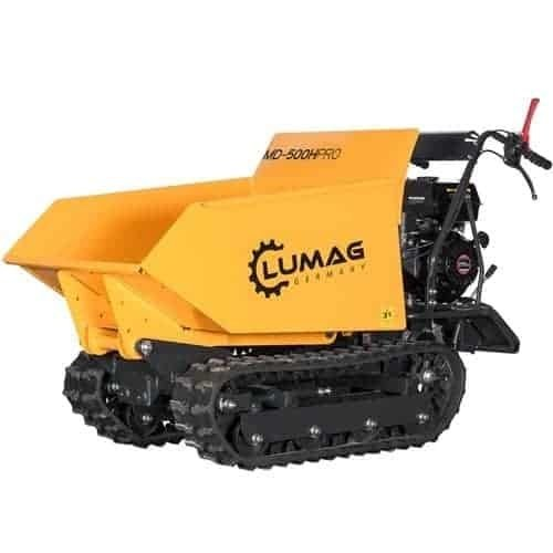 TRACKED DUMPER WITH HYDRAULIC LIFT