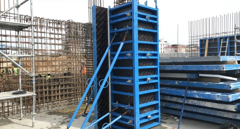 MEC PANELS Columns & Retaining Wall Formwork Sys.