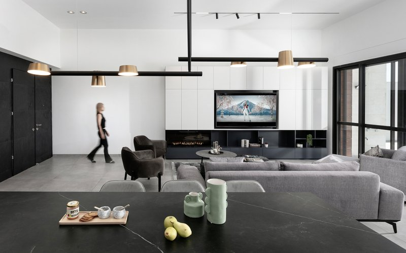 עיצוב בתים פרטיים ודירות יוקרה