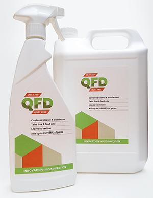 Quat Free Disinfectant