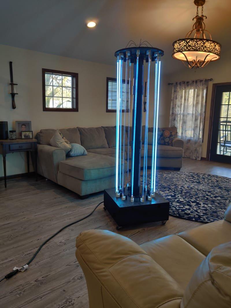 UVC 360* Germicidal Light Treatment