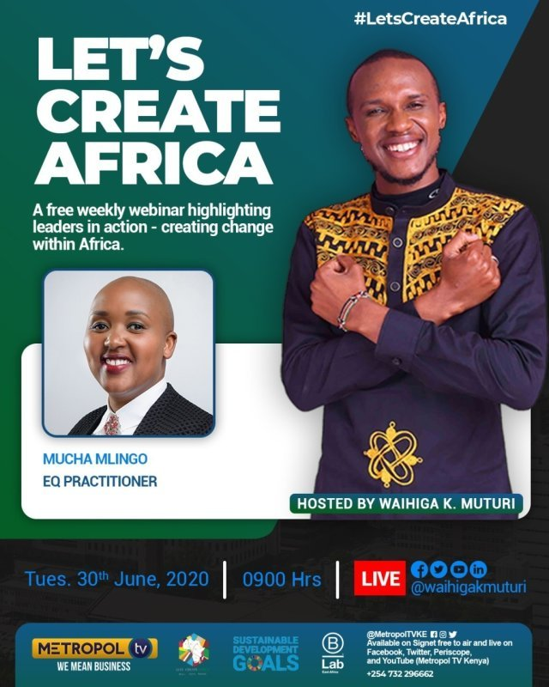 TV Interview: Let's Create Africa (Metropol TV)