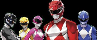 Power Rangers Reunification!