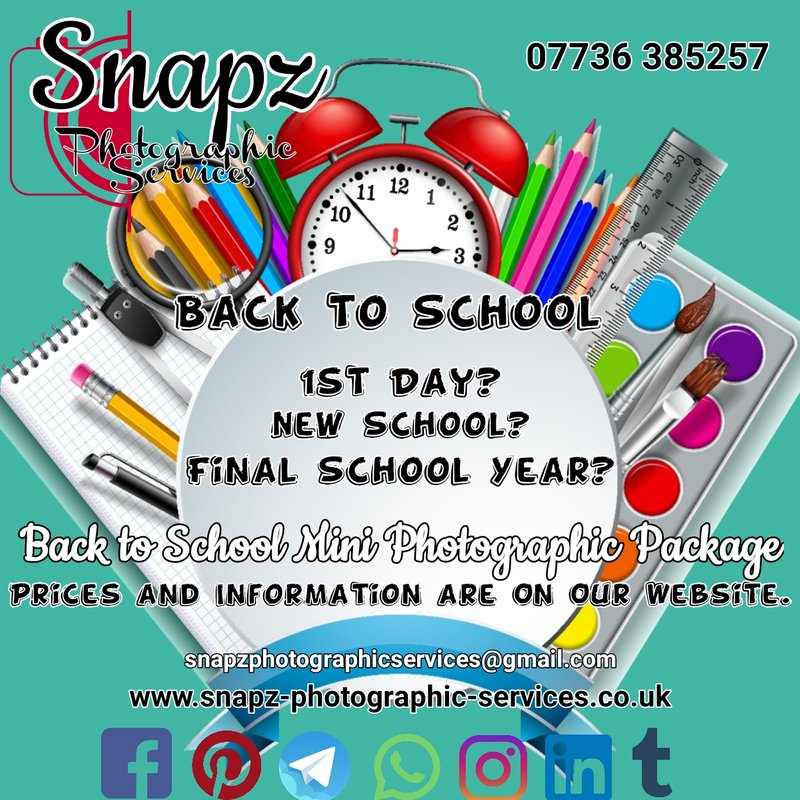 Back to School/School Photography Package