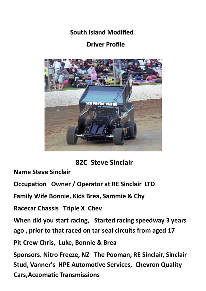 Steve Sinclair 82c  SRT Motorsport Modified