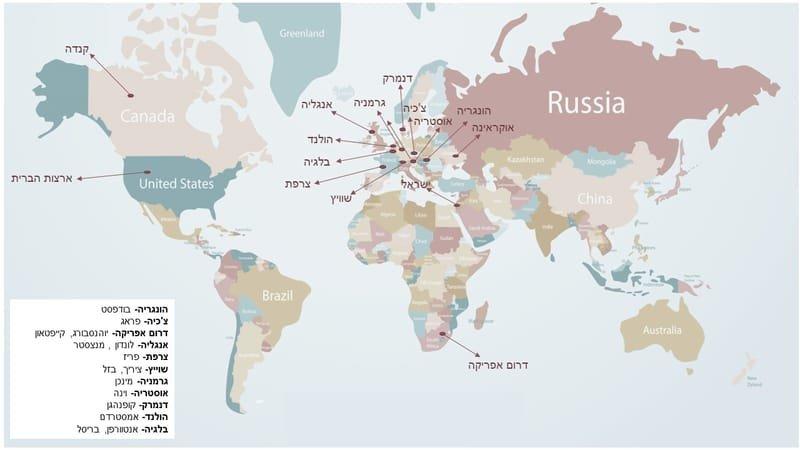 פעילות משימות ברחבי העולם