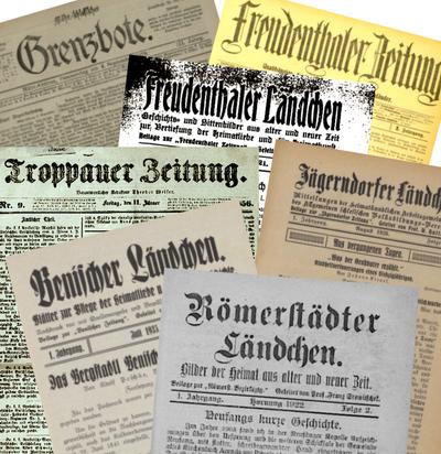 Historische Zeitungen