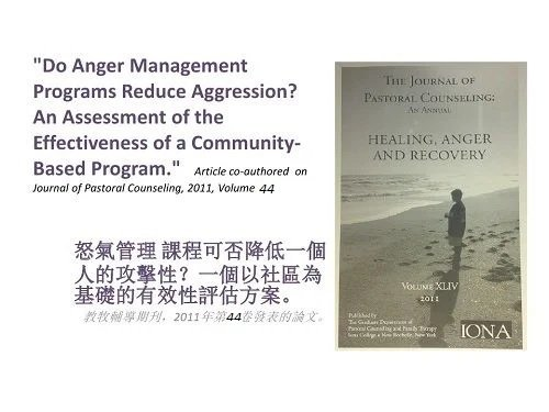 Do Anger Management Programs Reduce Aggression?