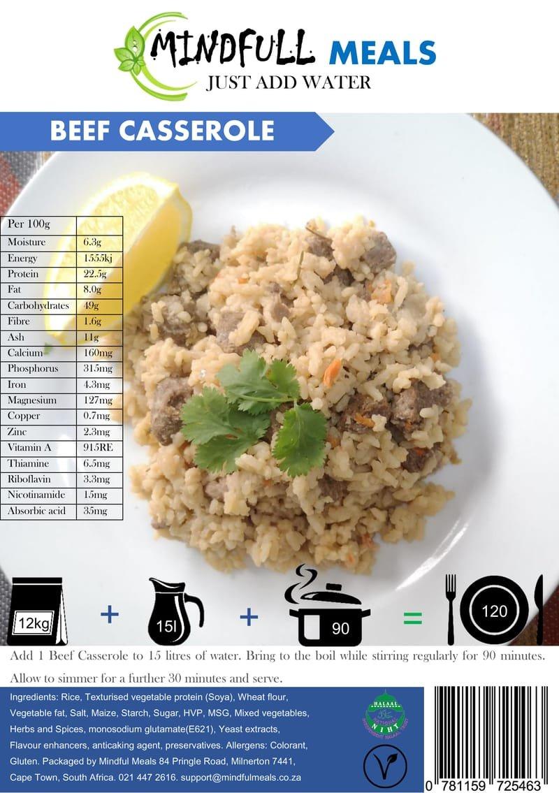 Beef Casserole 12kg