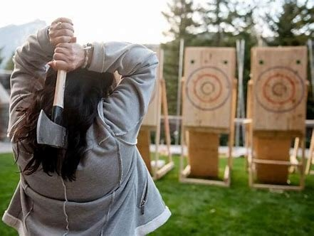What is Axe Throwing???