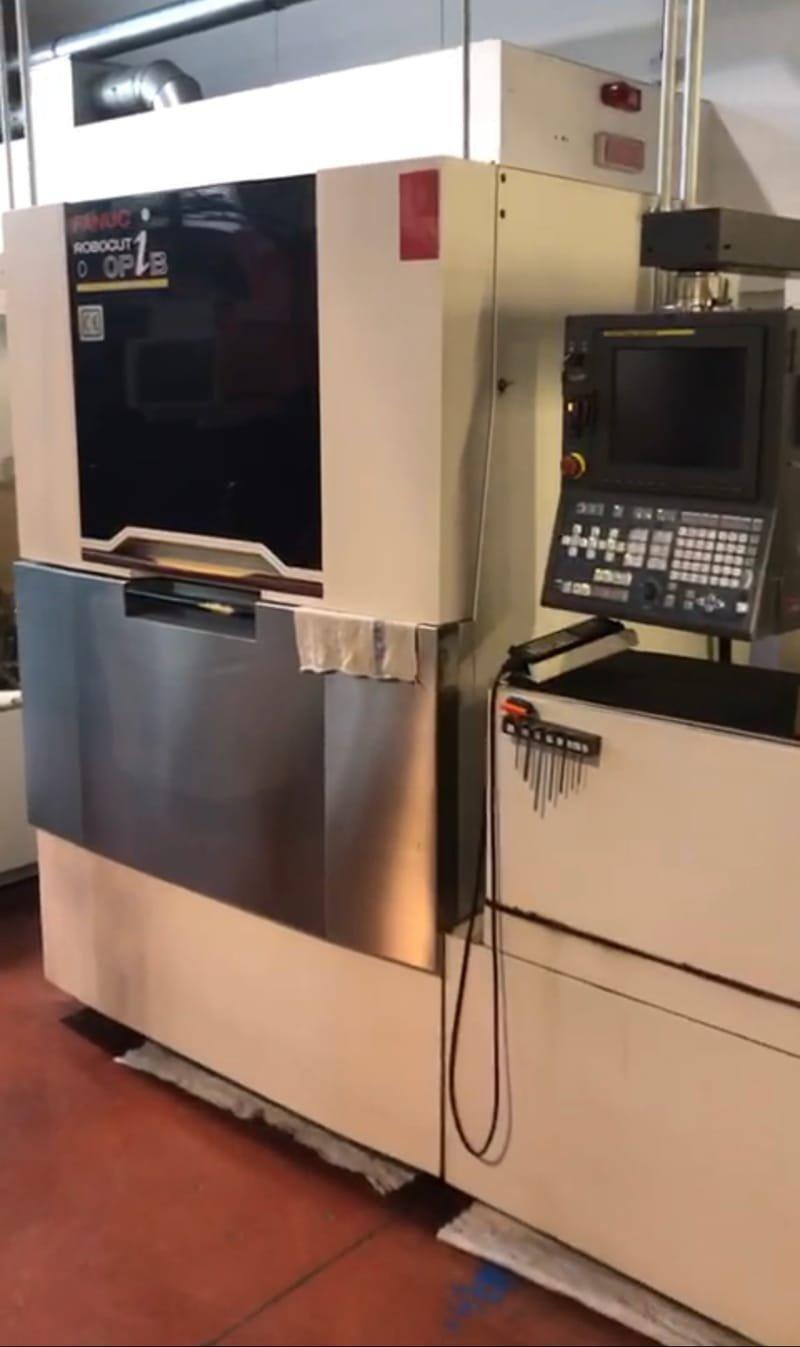 SATILDI ------- Fanuc Robocut Alpha 0iBP