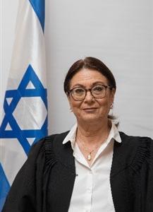 נשיאת בית המשפט העליון, כבוד השופטת אסתר חיות  -   Honorable Justice Esther Hayut