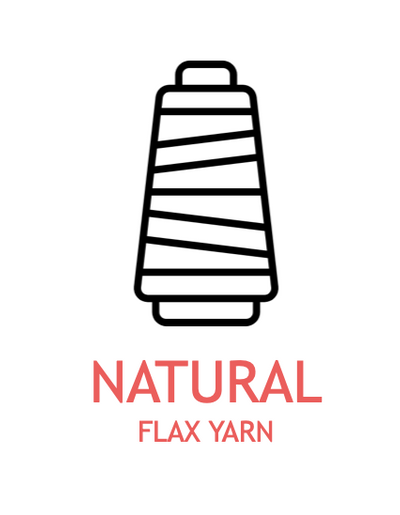 DRY spun flax yarn