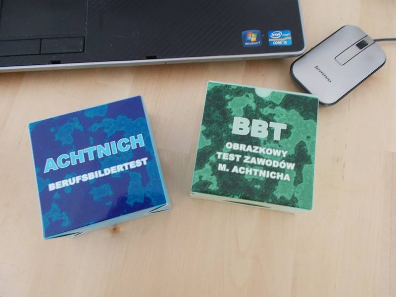 DIAGNOZA PREDYSPOZYCJI - TEST BBT M. ACHTNICH