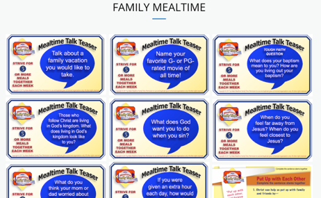 Family Meal Time Impact