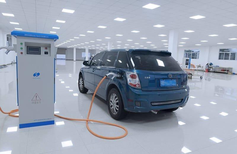 Solar Charging Station &  Dc Fast Ev Charger
