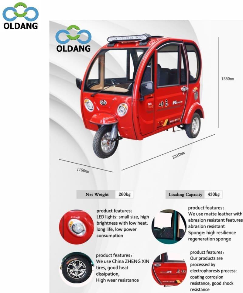 Oldang P2 ( 3-wheels)