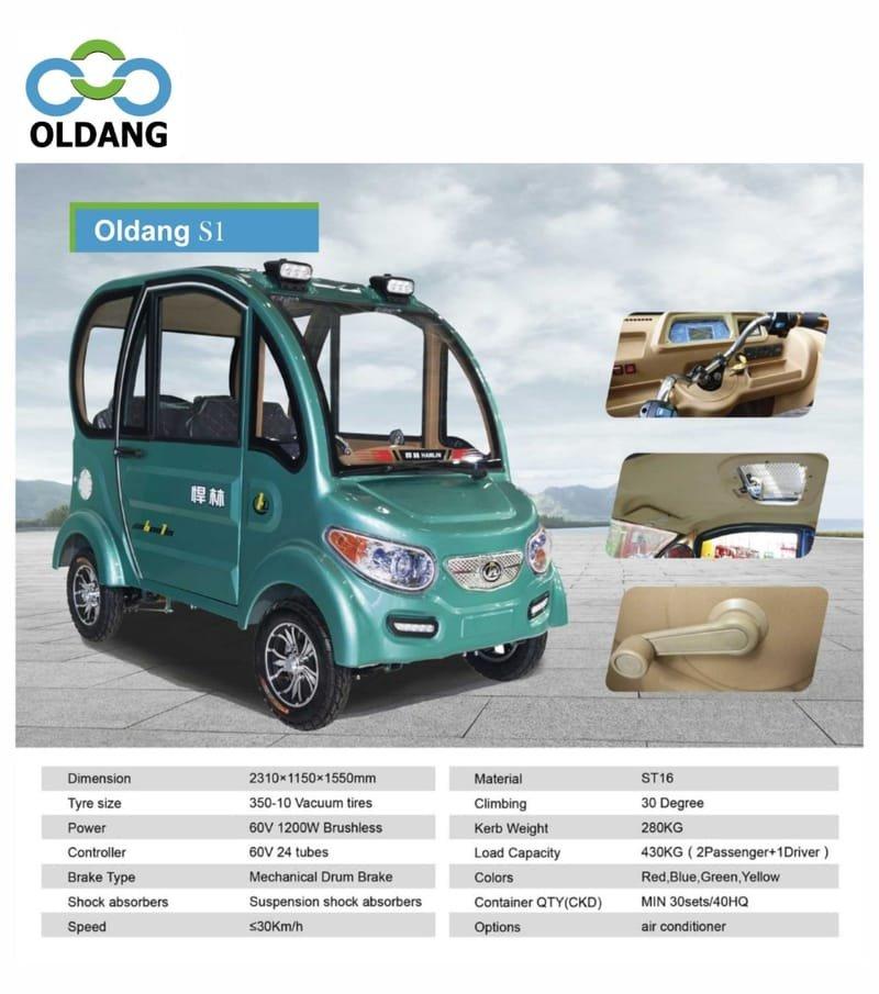 Oldang SEV S1 (4-wheels)