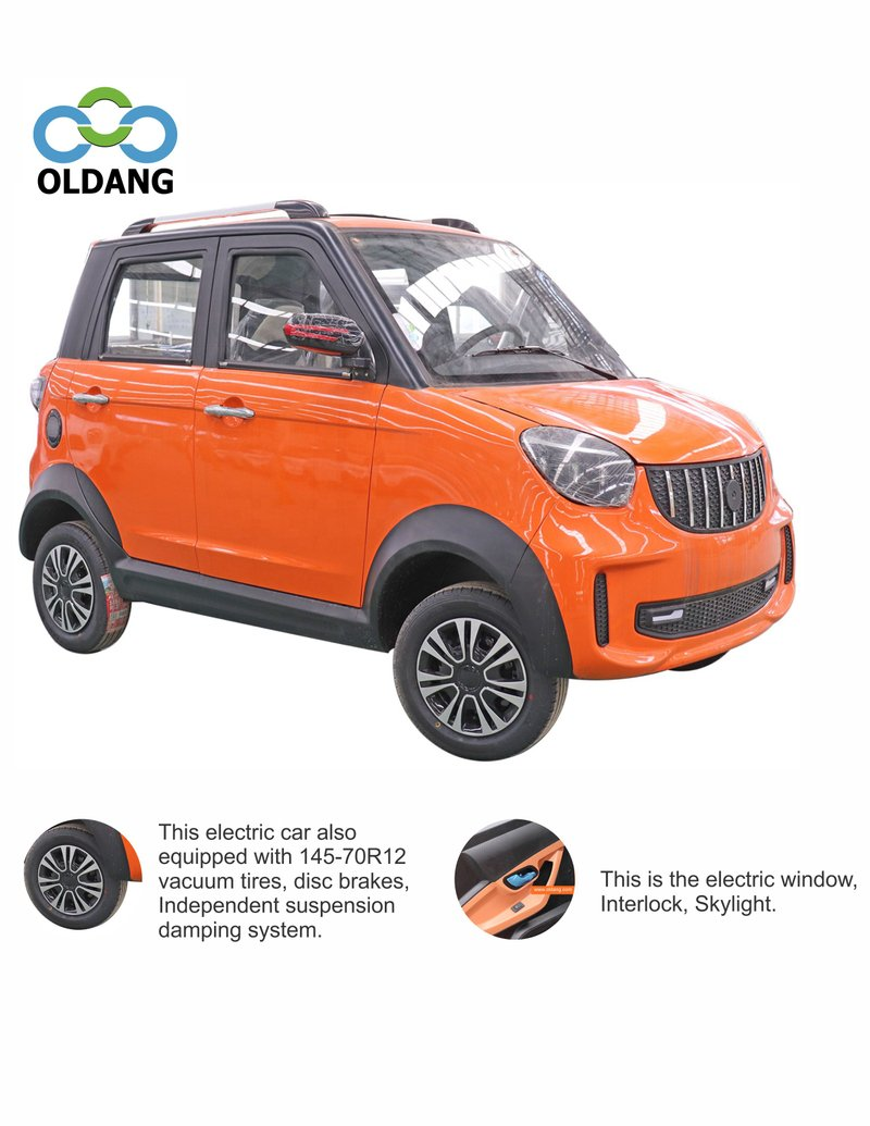 P22 Mini four wheel electric car with lithium battery(Oldang P22)