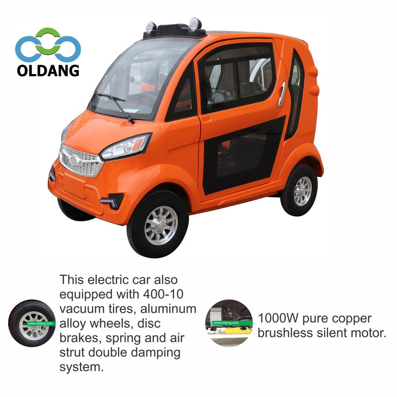 P24 Mini four wheel electric car with lithium battery(Oldang P24).