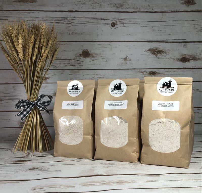 100% Whole Grain Flour