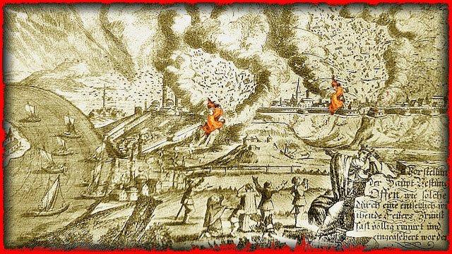 A közép-budai tűzoltás története