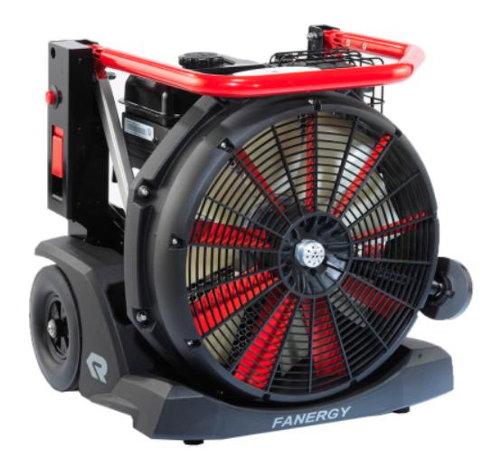 Benzinmotoros füsteltávolító ventillátor