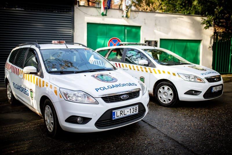 Ford Focus polgárőr autók
