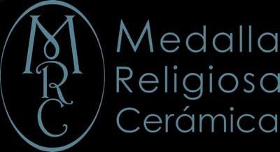 Medalla Religiosa Ceramica