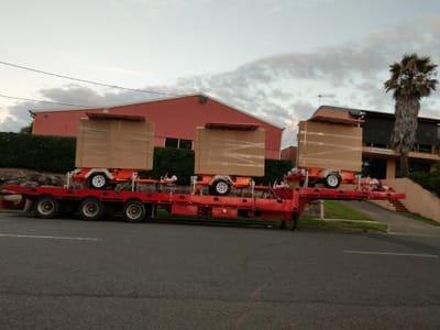 Tilt Tray Truck Transport