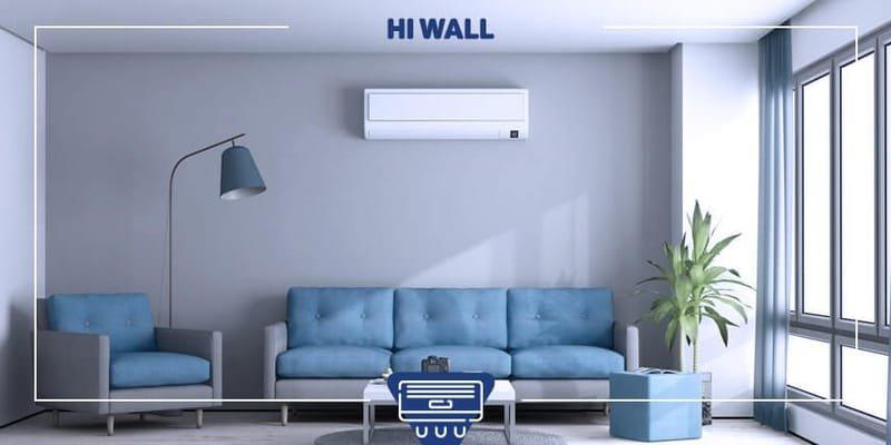 Instalação de ar condicionado Split Hi Wall
