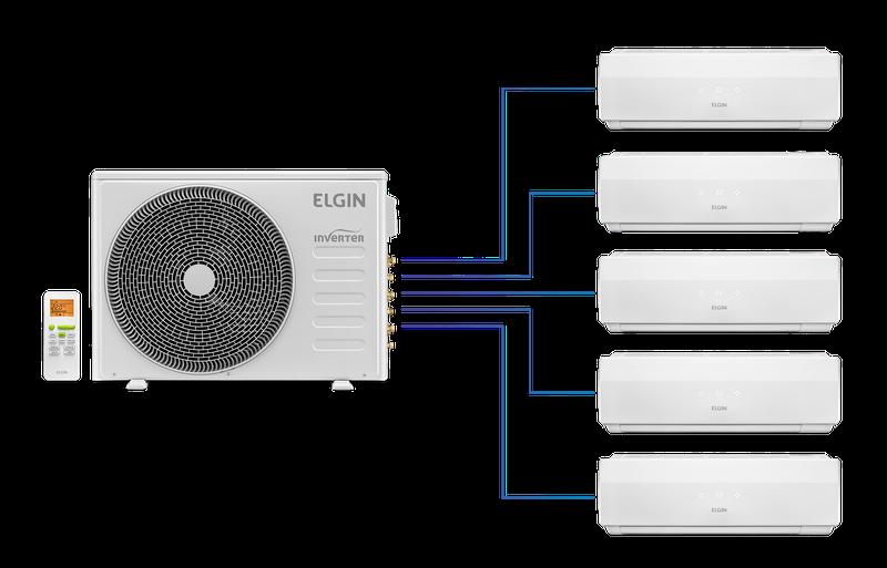 Instalação de ar condicionado Multisplit